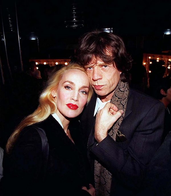 Jerry Hall i Mick Jagger, Londyn 1997 rok