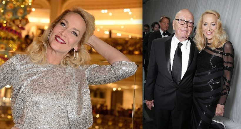 Jerry Hall i Rupert Murdoch