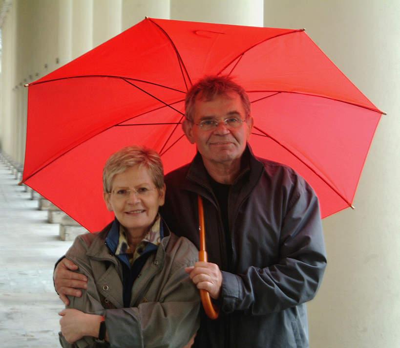 Jerzy Janeczek z żoną