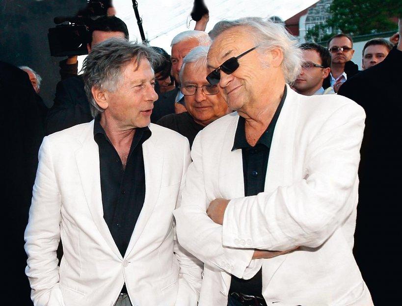 Jerzy Skolimowski i Roman Polański