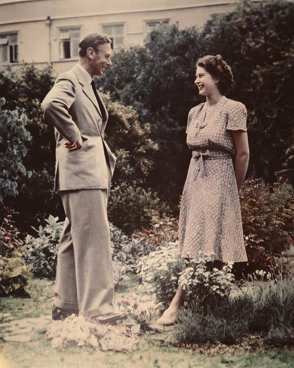 Jerzy VI Windsor i Elżbieta II