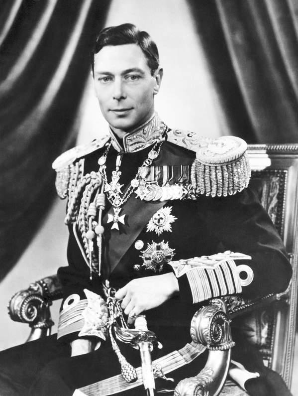 Jerzy VI Windsor, ojciec Elżbiety II portret