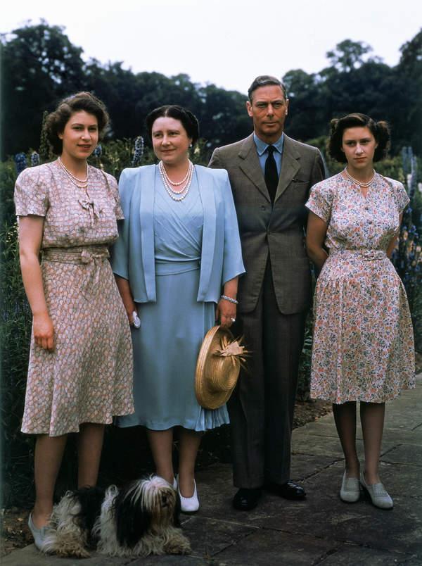Jerzy VI Windsor rodzina