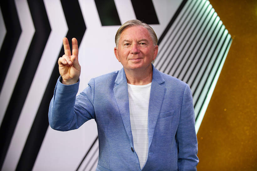 Jerzy Zwierzyński z Voice Senior występ