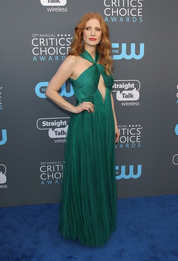Jessica Chastain, Critics Choice Awards 2018