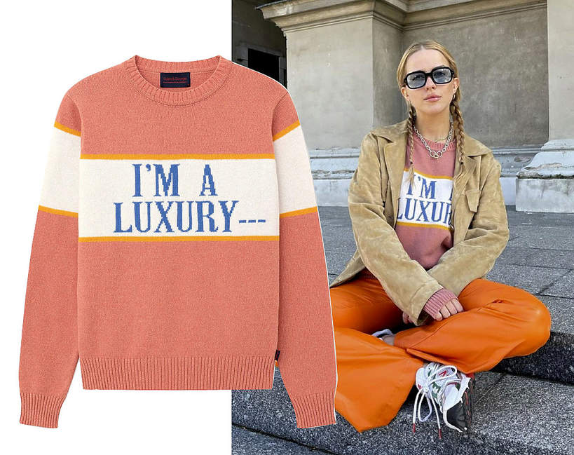 Jessica Mercedes, sweter