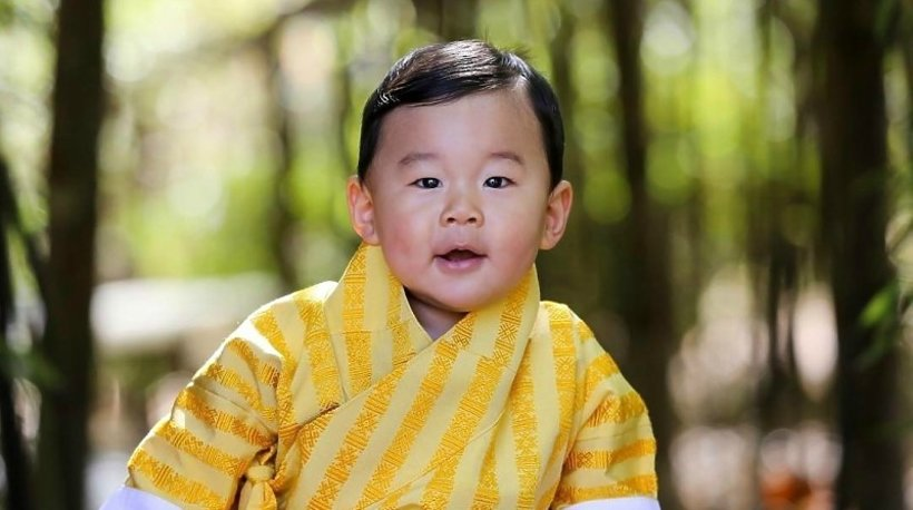 Jigme Namgyel Wangchuck, książę Bhutanu