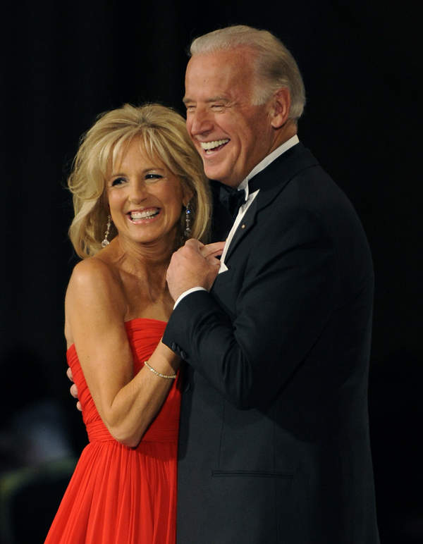 Jill Biden, Joe Biden, 2009