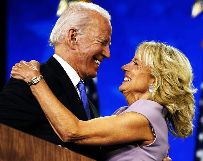 Jill Biden, Joe Biden, 2020