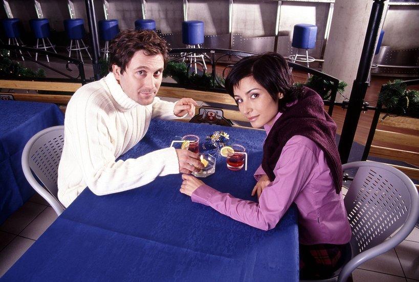 Joanna Brodzik i Bartłomiej Świderski, 2000 rok