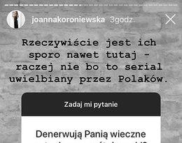 Joanna Koroniewska, dlaczego odeszła z M jak miłość