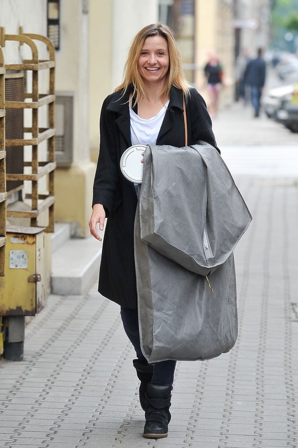Joanna Koroniewska na zakupach