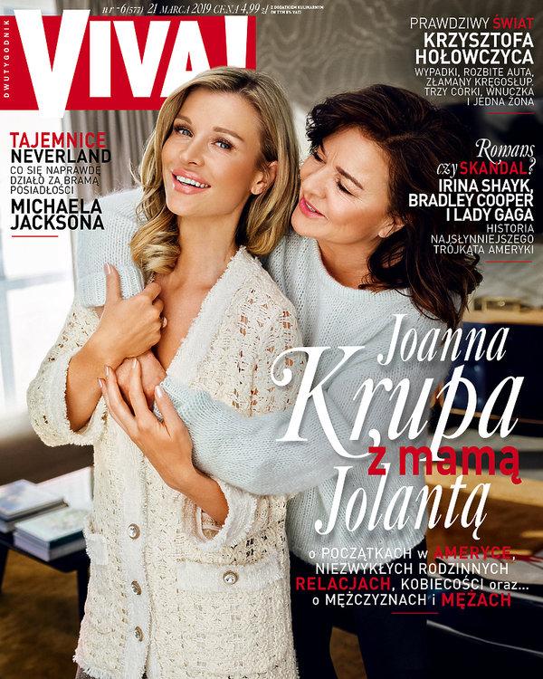 Joanna Krupa, Jolanta i Joanna Krupa, Viva! 6/2019 Okładka.jpg