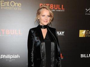 Joanna Kulig na premierze filmu Pitbull. Niebezpieczne kobiety