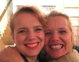 Joanna Kulig z siostrą, Justyna Schneider