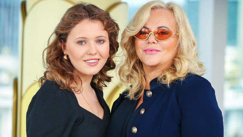 Joanna Kurowska z córką, Zofia Świątkiewicz