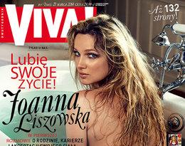 Joanna Liszowska na okładce Vivy!, marzec 2014