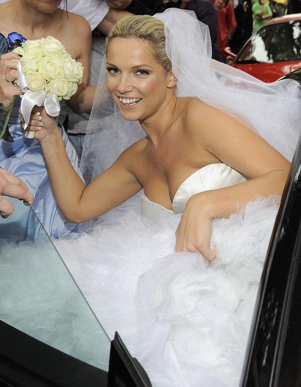 Joanna Liszowska ślub