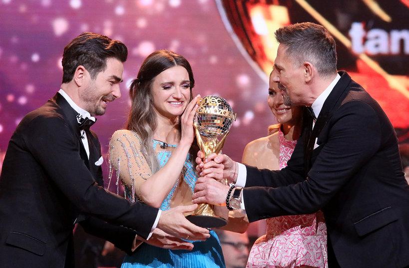 Joanna Mazur wygrała Taniec z gwiazdami