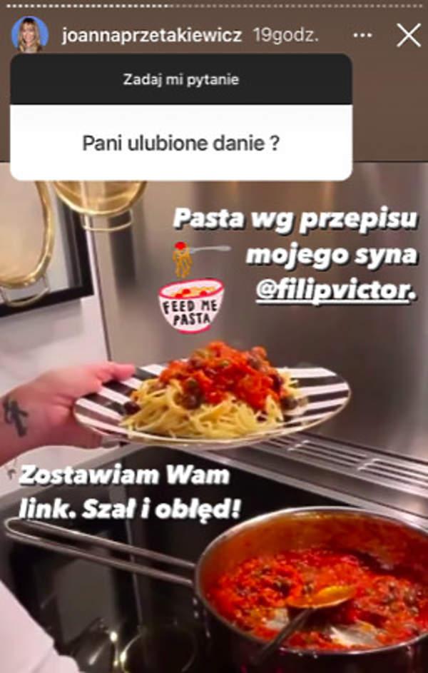 Joanna Przetakiewicz dieta
