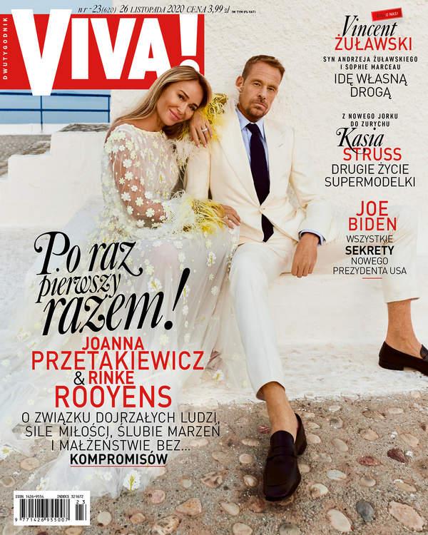 Joanna Przetakiewicz i Rinke Rooyens, VIVA! 23/2020, okładka