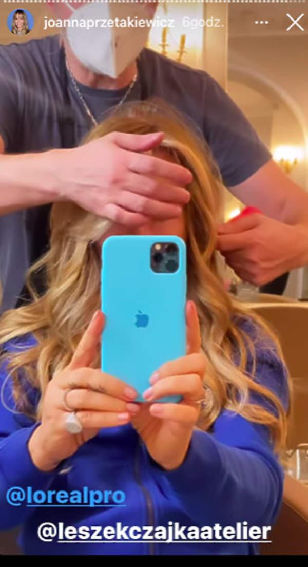 Joanna Przetakiewicz nowy kolor włosów