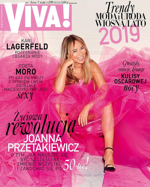Joanna Przetakiewicz, Viva! 5/2019 Okładka