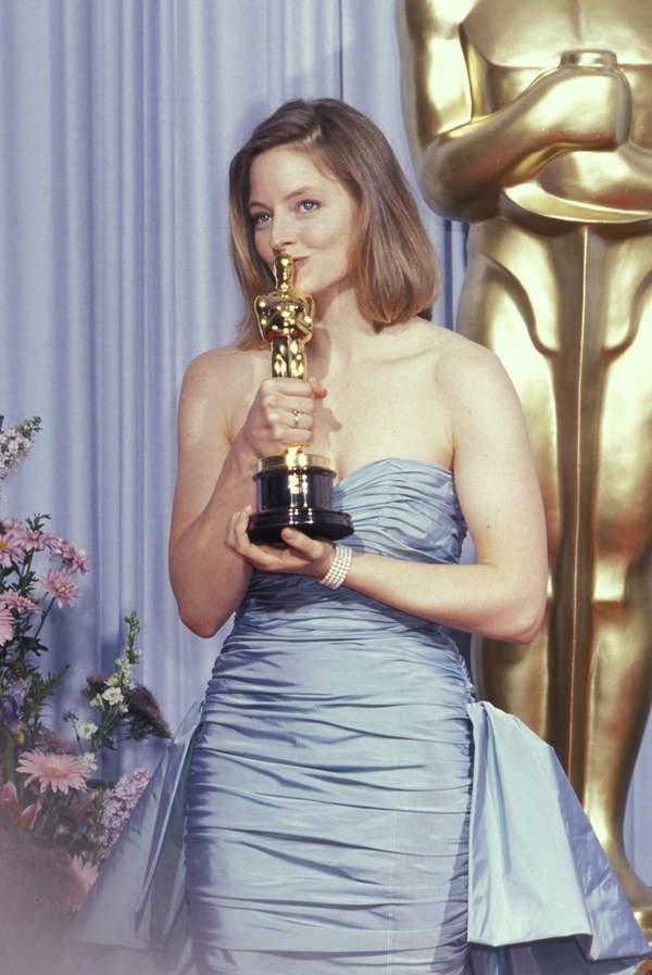 Jodie Foster na rozdaniu Oscarów
