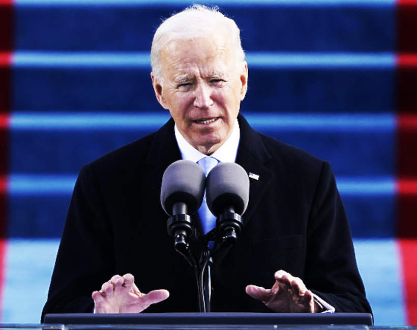 Joe Biden, 2021