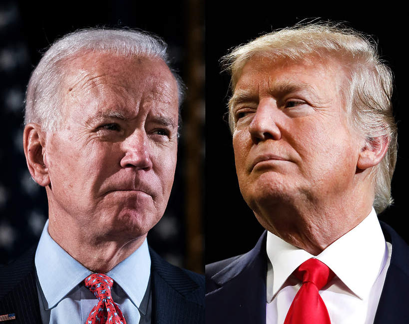Joe Biden, Donald Trump, wybory USA