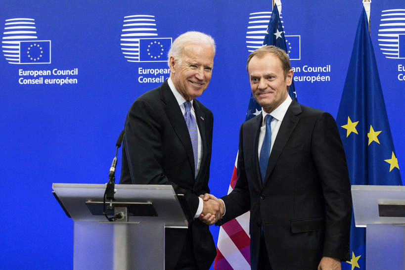 Joe Biden, Donald Tusk