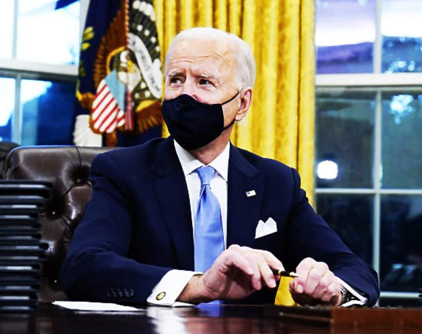 Joe Biden w Białym Domu