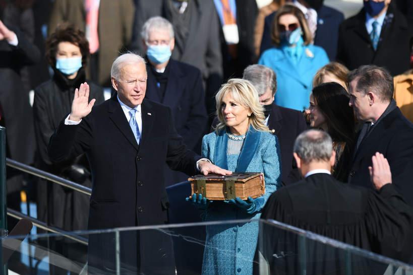 Joe Biden, zaprzysiężenie 2021