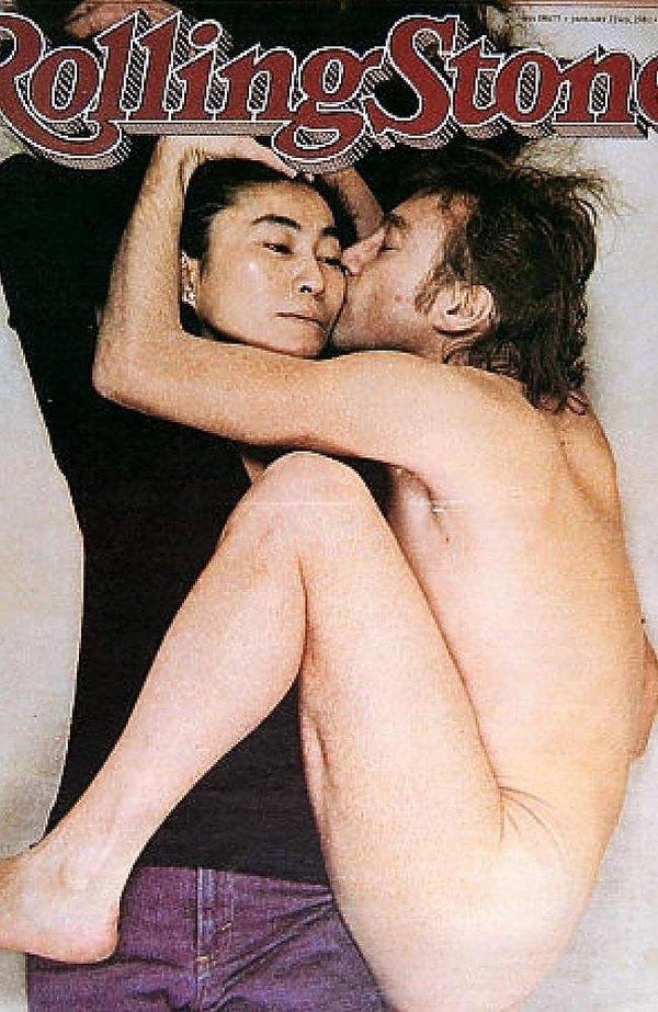 John Lennon i Yoko Ono na okładce Rolling Stone