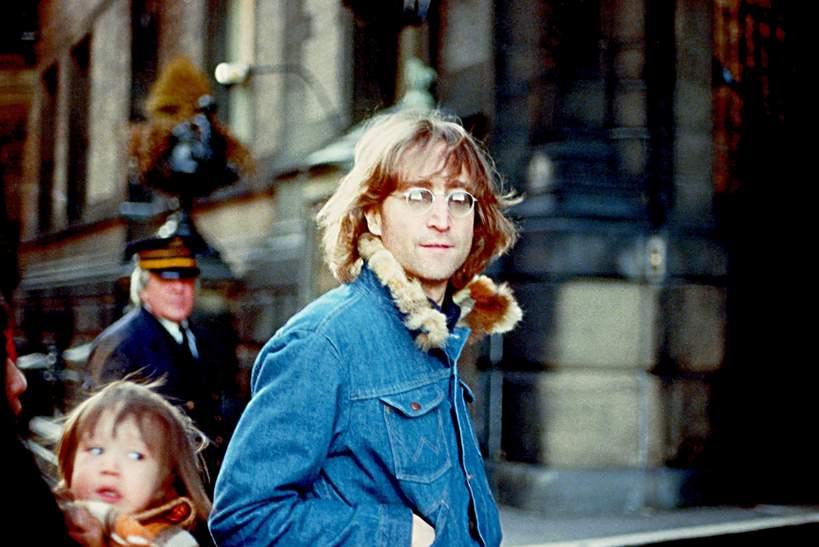 John Lennon, syn Sean Lennon, 1977, Nowy Jork