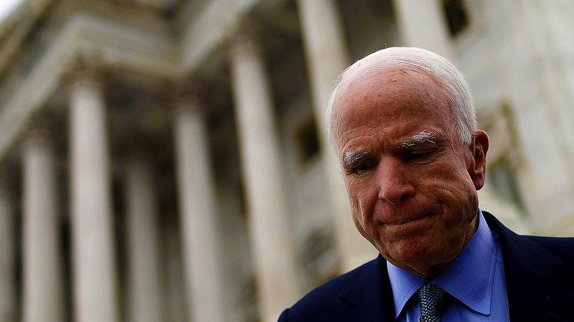 John McCain, nowotwór