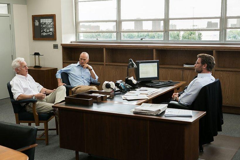 John Slattery, Michael Keaton i Liev Schreiber