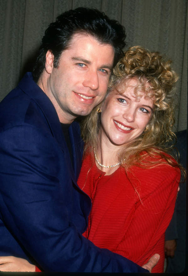 John Travolta, Kelly Preston, 1990 rok