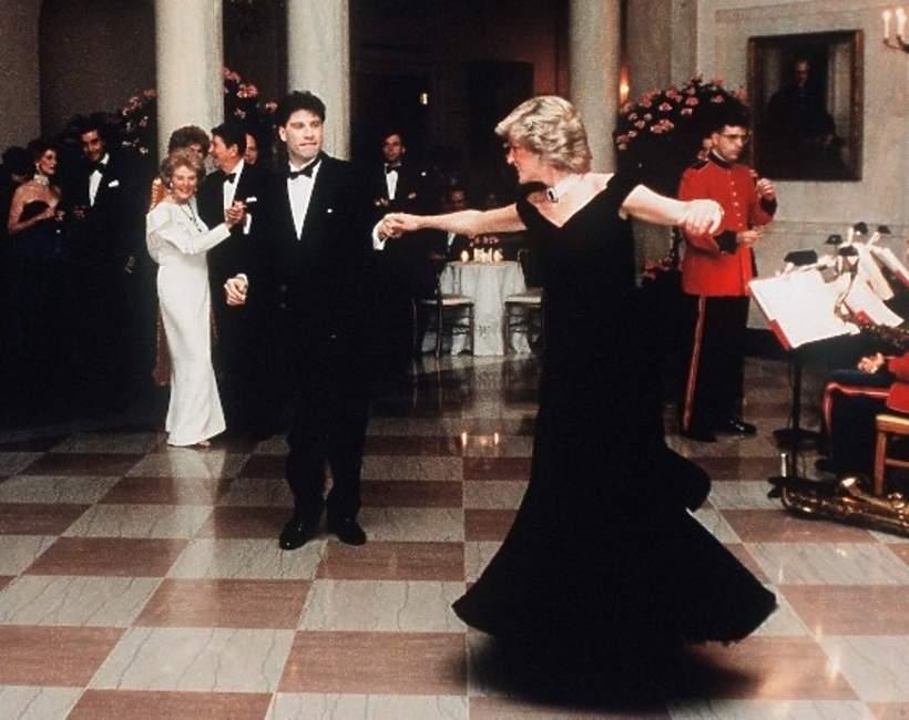 John Travolta, księżna Diana