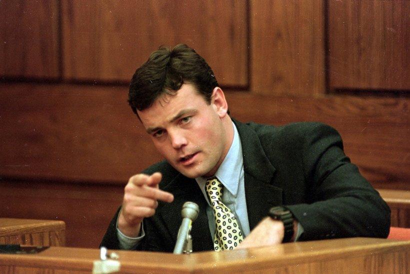John Wayne Bobbitt na sali sądowej