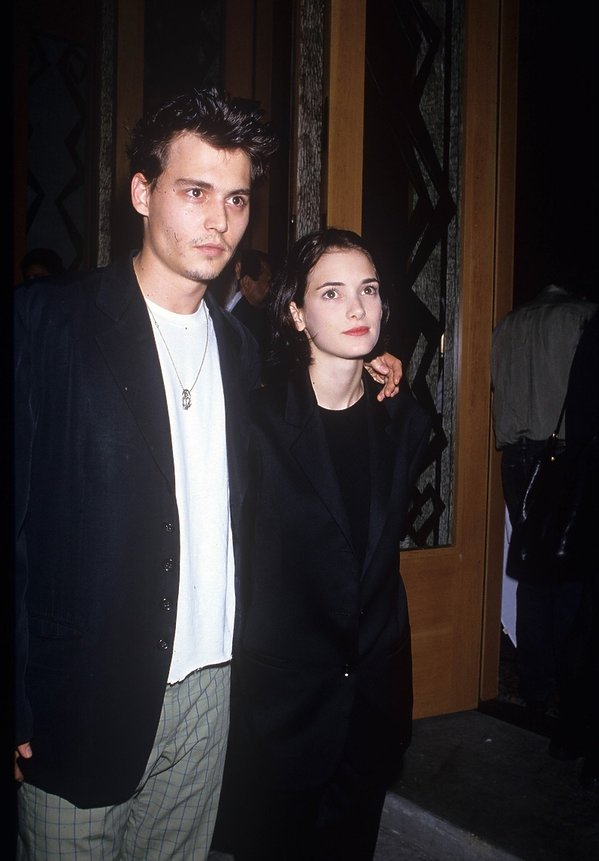 Johnny Depp i Winona Ryder