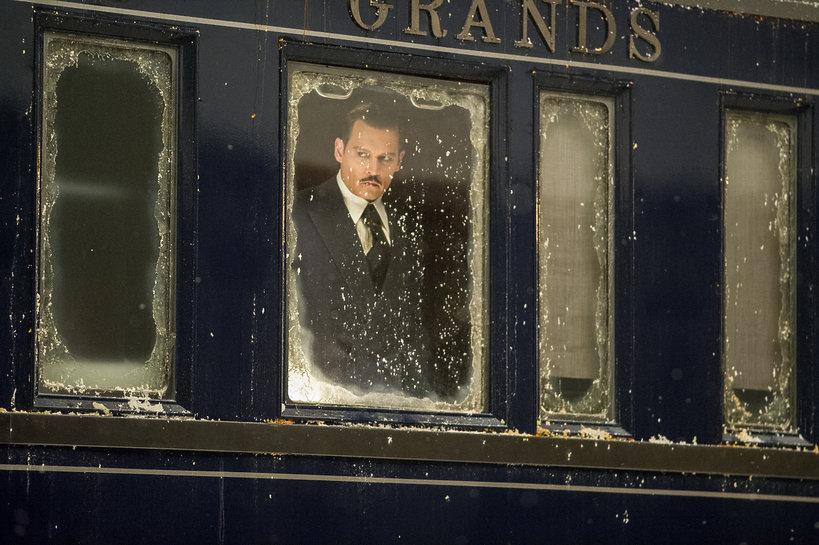 Johny Depp Morderstwo w Orient Expressie