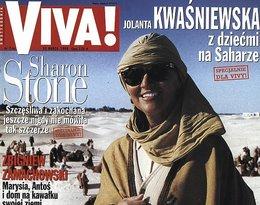 Jolanta Kwaśniewska na Saharze na okładce Vivy!