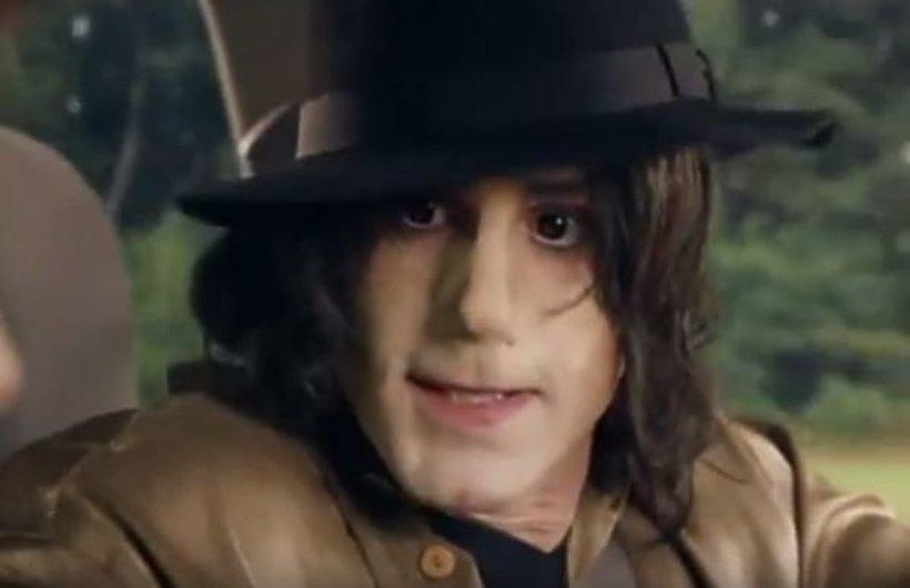 Joseph Fiennes jako Michael Jackson