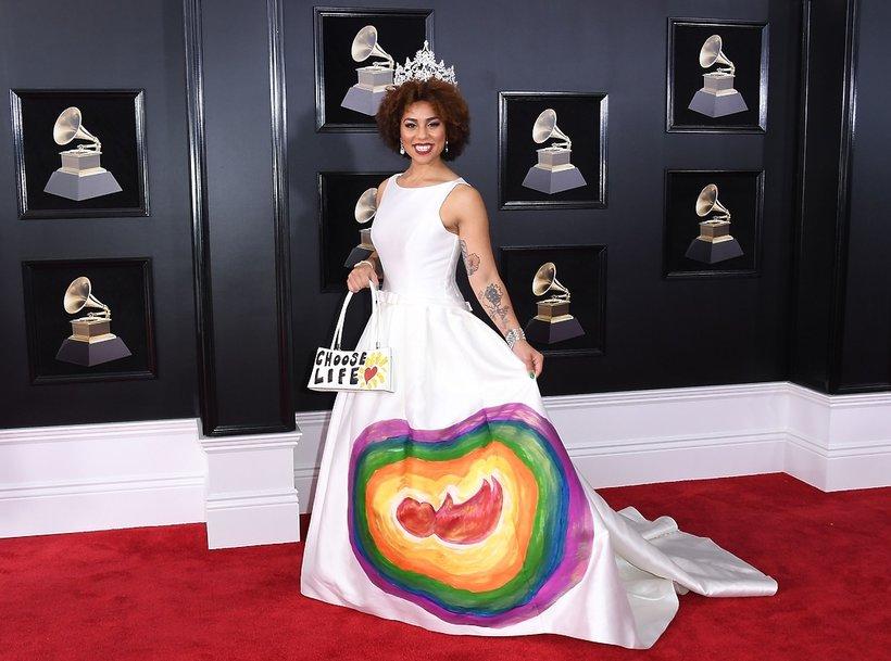 Joy Villa przeciwko aborcji, Grammy 2018
