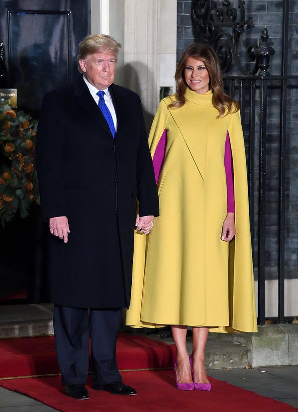 Jubileusz NATO: Donald Trump, Melania Trump