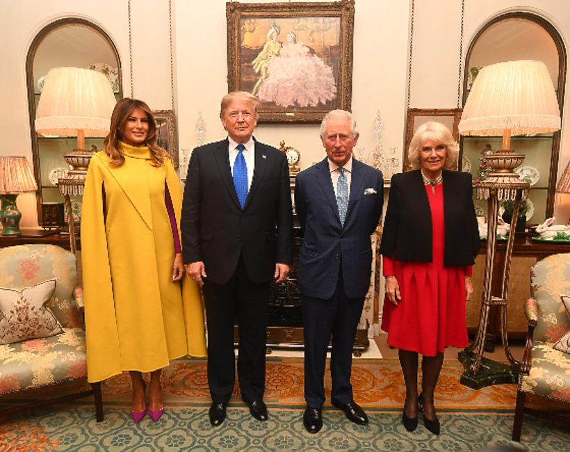 Jubileusz Nato: Melania Trump, Donald Trump, książę Karol, księżna Camilla