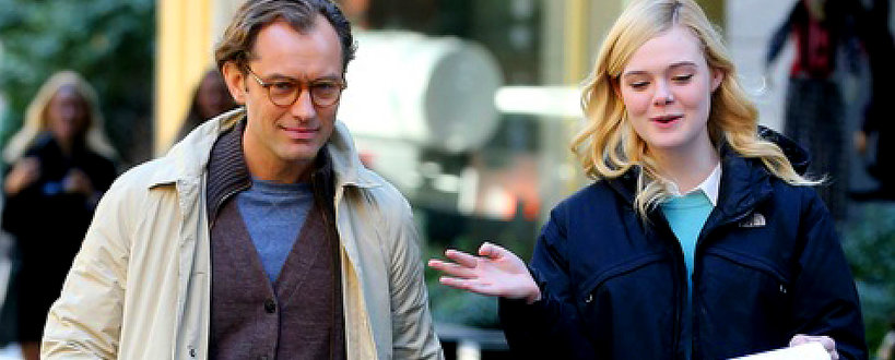 Jude Law, Elle Fanning, Woody Allen, Rainy Day in New York