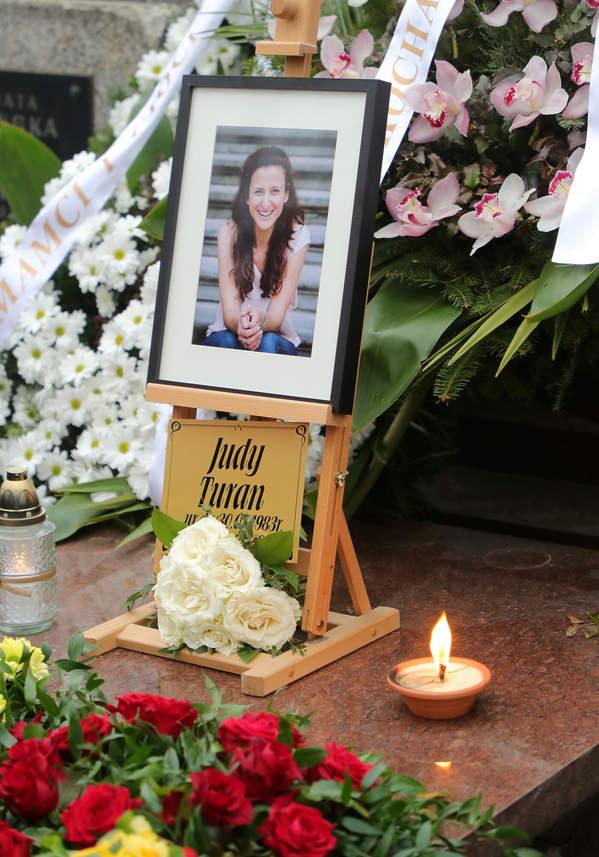 Judyta Turan pogrzeb