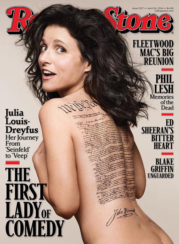 Julia Louis-Dreyfus na okładce Rolling Stone
